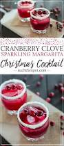 pomegranate margarita cranberry clove sparkling margarita recipe nice list