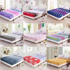2018 wholesale wholesale bed sheet cotton printed king size fitted