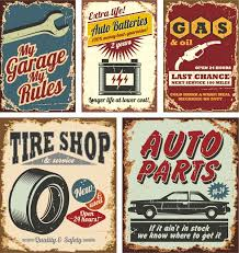 themed posters vintage car themed vector posters topvectors