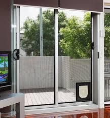 sliding glass doggie doors interior minimalist metal dog door for sliding glass door dog door