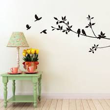 Home Decor Tree Branches Decoration Wall Picture More Detailed Picture About Diy Birds On