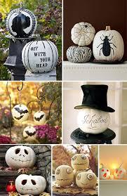 pumpkin black and white pumpkin decorating ideas with white pumpkins decorating ghost pumpkin