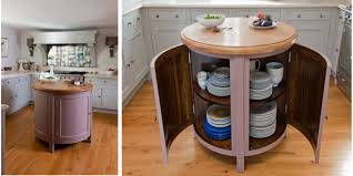 making a round kitchen island designing round kitchen island
