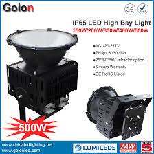 led flood light replacement 500w led high bay lights equal to 1000w metal halide flood light