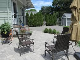 Backyard Milton - mento travels to milton for a new back patio mento landscape