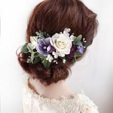 flower hair whimsical flower hair for weddings bridal hairpieces