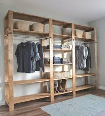 Free Standing Closet With Doors The Homestead Survival Build This Freestanding Closet For Around