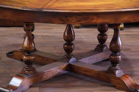 Solid Mahogany Dining Table Rustic Etra Large Solid Walnut Round Dining Table Seats To