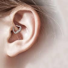 heart cartilage bodyj4you 3pcs 16g 1 2mm daith ear piercing heart shape