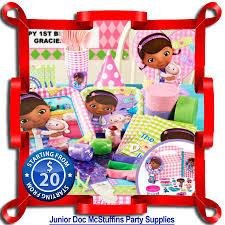 doc mcstuffin party supplies doc mcstuffins party supplies kids party store