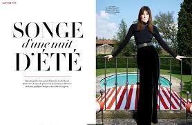 Vanity Fair Dubai Carla Bruni For Vanity Fair France Blog D U0027management Group