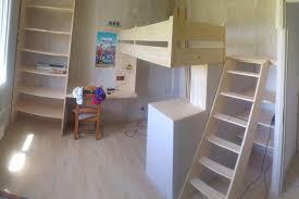 module bureau fabrication d un module lit bureau rangements sur mesure en bois