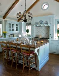 kitchen style stainless steel gas range antique hanging lights