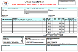 Free Purchase Order Template Excel Purchase Template For Requisition Form Format Of