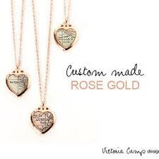 Custom Heart Necklace Shop Rose Gold Tiny Heart Necklace On Wanelo