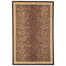 Safavieh Leopard Rug Safavieh Animal Print Modern Area Rugs Rugs The Home Depot