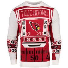 light up ugly christmas sweater dress arizona cardinals ugly sweaters light up sweaters holiday