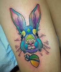 geometric tattoo bunny outline tattoo bunny rabbit tattoo
