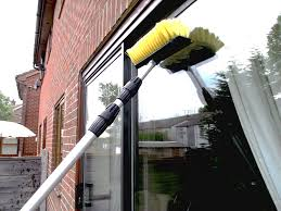 professional window cleaning equipment 17 foot water fed extendable telescopic window cleaning pole