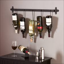 furniture magnificent wall accents rustic wine rack ideas