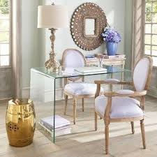 Plastic Console Table Clear Glass Console Table Foter