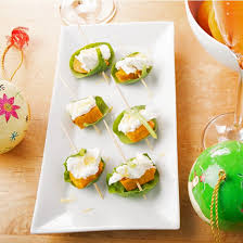 goats cheese canape recipes potato goats cheese and spinach canapés cooks