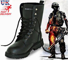 s army boots uk s fashion leather army boots tactical lace up combat