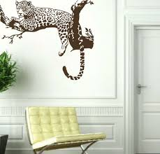popular tiger wall decor buy cheap tiger wall decor lots from awoo large leopard tiger tree removable vinyl decor sticker wall sticker home decaration animal wall decor