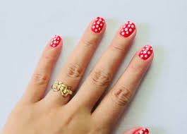 how to paint polka dot nails with a toothpick 9 steps