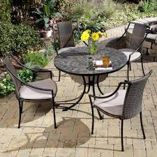 metal patio table and chairs amazon com home styles 5601 3081 stone harbor 5 piece outdoor