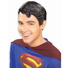 plastic hair superman vinyl wig wig and shrek
