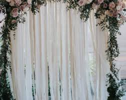 wedding backdrop drapes wedding backdrop etsy