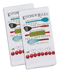 this u0027cook with love u0027 kitchen rules towel set of two by is