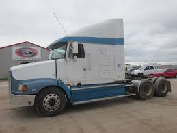 volvo 800 truck for sale 1995 volvo white gmc wah64 conventional sleeper truck youtube