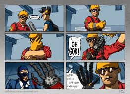 Team Fortress 2 Memes - engie shows how his hand looks like team fortress 2 know your meme