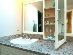 medicine cabinet with electrical outlet bathroom outlets lindas club
