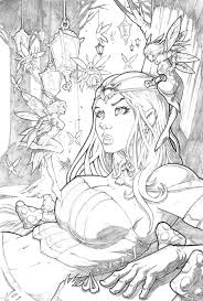 grimm fairy tales wonderland 35 pencil by vinz el tabanas