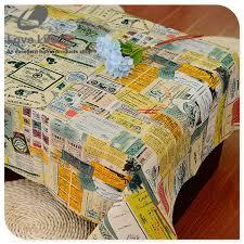Home Decoration Wedding Literary Newspaper Print Table Cloth Rectangular Linen Tablecloths