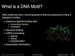 Meme Motif Search - dna motif finding 2010