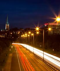 who to call when street lights are out derbyshire s 23m led street light upgrade continues to roll out
