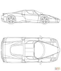 ferrari car coloring page free printable coloring pages