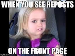 Meme Little Girl - unimpressed little girl imgflip