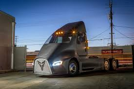 tesla truck thor trucks wants to take on tesla with its own electric semi truck