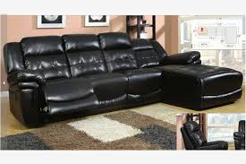 Black Leather Sofa Recliner Outstanding Black Leather Reclining Sectional Sofa Black Leather