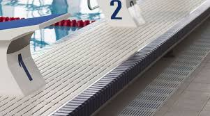 Pool Deck Drain With Removable Tops by Swimming Pool Grating Natare