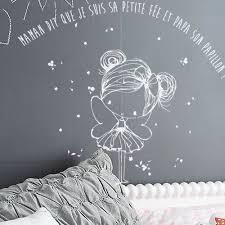 stickers muraux chambre stickers muraux chambre fille la fée de maman le papillon de papa