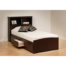 Mainstays Storage Bed With Headboard Twin Bed Headboard With Storage Mainstays Jumptags Info