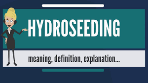 what is hydroseeding what does hydroseeding mean hydroseeding