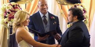 how to officiate a wedding attention everyone the rock is now an experienced wedding