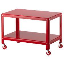 ikea ikea ps 2012 coffee table red the casters make it easy